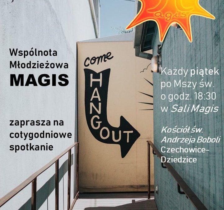 Dołącz do Wspólnoty Młodzieżowej MAGIS