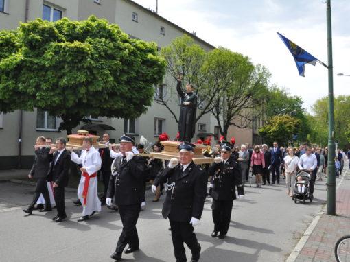Uroczystości odpustowe ku czci Patrona Naszej Parafii, Miasta i Naszej Ojczyzny – św. Andrzeja Boboli SJ [16.05.2019]
