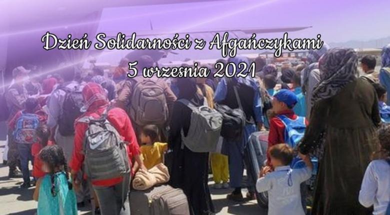 """""""Dzień solidarności z Afgańczykami"""" – niedziela, 5. września 2021"""